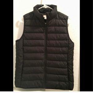 J Crew black vest
